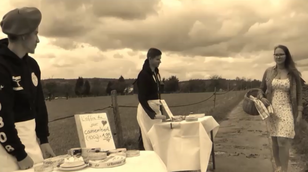 L'hommage au fromage – Teilnahme am Schülerkurzfilmwettbewerb