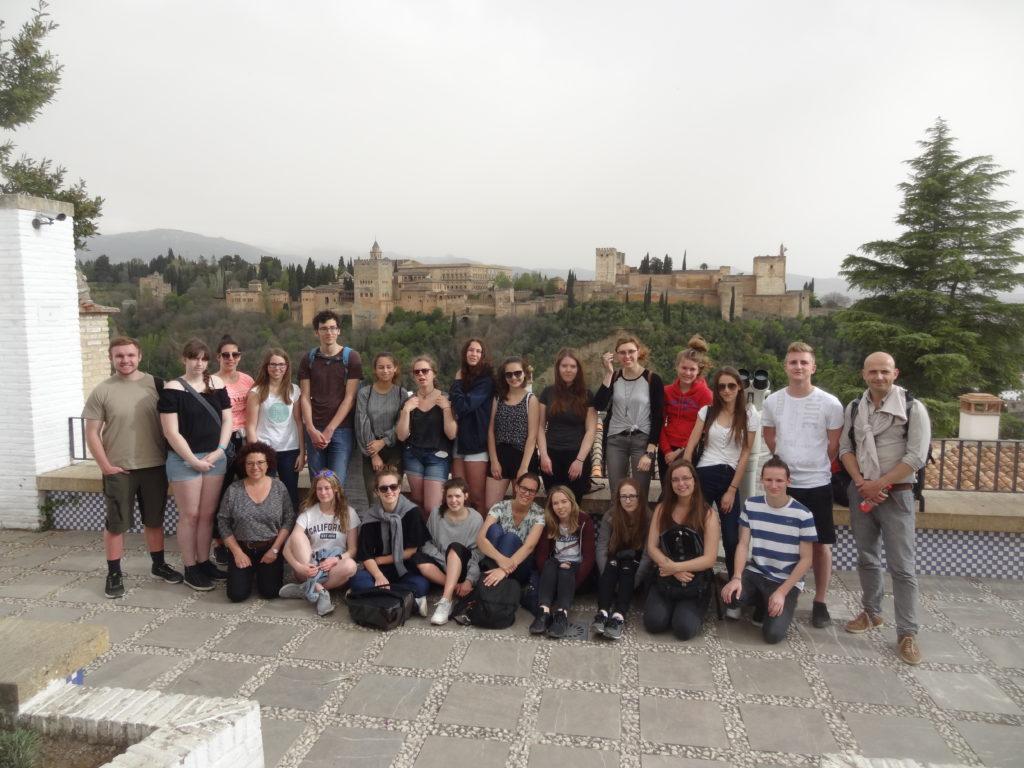 Sprachreise nach Granada vom 19. bis 26.04 2018